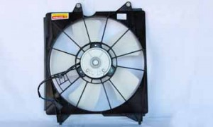 2008-2009 Honda Accord Radiator Cooling Fan Assembly
