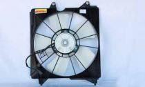 2008 - 2009 Honda Accord Radiator Cooling Fan Assembly