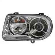 2005 - 2010 Chrysler 300 + 300C Front Headlight Assembly Replacement Housing / Lens / Cover - Left (Driver)