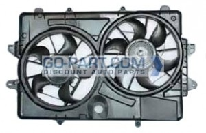 2009-2009 Ford Escape Radiator Cooling Fan Assembly