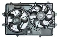 2007-2009 Ford Escape Radiator Cooling Fan Assembly