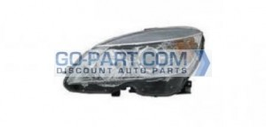 2007-2011 Mercedes Benz C300 Headlight Assembly - Left (Driver)