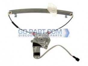 1996-2000 Hyundai Elantra Window Regulator Assembly Power (Front Left)