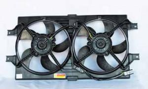2001-2004 Chrysler New Yorker LHS Radiator Cooling Fan Assembly