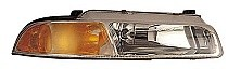 1995 - 1996 Plymouth Breeze Headlight Assembly (with Improved Beam Pattern) - Right (Passenger) Replacement