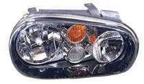 2003 - 2005 Volkswagen Golf + GTI + GTA Front Headlight Assembly Replacement Housing / Lens / Cover - Left (Driver)