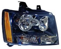 2007 - 2014 Chevrolet (Chevy) Blazer Front Headlight Assembly Replacement Housing / Lens / Cover - Right (Passenger)