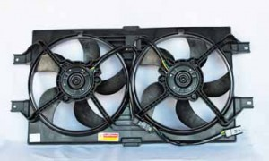 1999-2000 Chrysler New Yorker LHS Radiator Cooling Fan Assembly