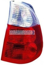 2004-2006 BMW X5 Tail Light Rear Lamp (On Body / with White Turn Indicator) - Right (Passenger)