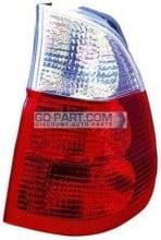 2004-2006 BMW X5 Tail Light Rear Brake Lamp (On Body / with White Turn Indicator) - Right (Passenger)