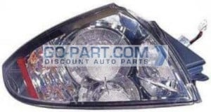 2007-2010 Mitsubishi Eclipse Tail Light Rear Brake Lamp - Right (Passenger)