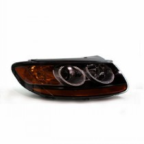 2007 - 2009 Hyundai Santa Fe Front Headlight Assembly Replacement Housing / Lens / Cover - Right (Passenger)