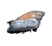 2007-2009 Nissan Altima Hybrid Headlight Assembly - Left (Driver)