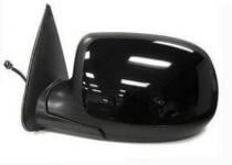 2002 Chevrolet Chevy Avalanche Side View Mirror (Heated Power Remote + Manual Folding + with Puddle Lamp) - Left (Driver)