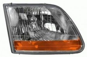 2001-2004 Ford F-Series Light Duty Pickup Headlight Assembly - Right (Passenger)