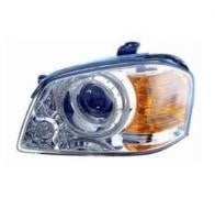 2003 - 2004 Kia Optima Front Headlight Assembly Replacement Housing / Lens / Cover - Left (Driver)