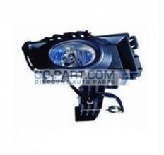 2007-2009 Mazda 3 Mazda3 Fog Light Lamp (Sedan / Factory Installed / Chrome) - Right (Passenger)