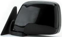 1991 - 1997 Toyota Landcruiser Side View Mirror Assembly / Cover / Glass Replacement - Left (Driver)