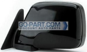 1991-1997 Toyota Landcruiser Side View Mirror - Left (Driver)