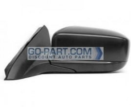 2003-2007 Honda Accord Side View Mirror (Coupe / Power Remote / Heated / Black Pearl / (Code B92P) - Left (Driver)