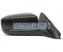 2003-2007 Honda Accord Side View Mirror (Coupe / Power Remote / Heated / Black pearl / (Code B92P) - Right (Passenger)
