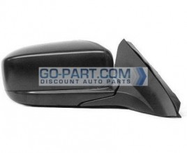 2003-2007 Honda Accord Side View Mirror (Coupe / Power Remote / Non-Heated / Black Pearl / (Code B92P) - Right (Passenger)