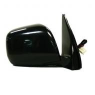 2001 - 2007 Toyota Highlander Side View Mirror Replacement (Heated + Power Remote + Black (Code 202) - Right (Passenger)