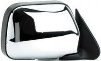 1990 - 1995 Toyota 4Runner Side View Mirror (without Vent Window + Manual + Bright) - Right (Passenger)