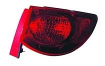 2009 - 2012 Chevrolet (Chevy) Traverse Rear Tail Light Assembly Replacement / Lens / Cover - Left (Driver)