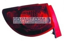 2009-2011 Chevrolet (Chevy) Traverse Tail Light Rear Brake Lamp - Left (Driver)