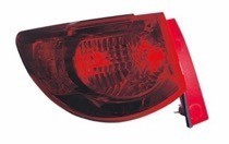 2009 - 2012 Chevrolet (Chevy) Traverse Rear Tail Light Assembly Replacement / Lens / Cover - Right (Passenger)