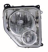 2009 - 2011 Jeep Liberty Headlight Assembly - Left (Driver)
