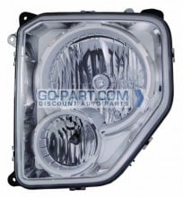 2008-2008 Jeep Liberty Headlight Assembly - Left (Driver)