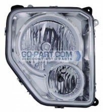 2008-2008 Jeep Liberty Headlight Assembly - Right (Passenger)
