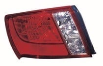 2008 - 2011 Subaru Impreza Tail Light Rear Lamp (Base + WRX + Sedan) - Left (Driver)