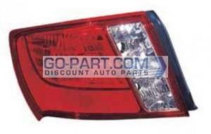 2008-2011 Subaru Impreza Tail Light Rear Lamp (Base / WRX / Sedan) - Left (Driver)