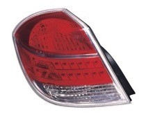 2007 - 2009 Saturn Aura Hybrid Rear Tail Light Assembly Replacement / Lens / Cover - Left (Driver)