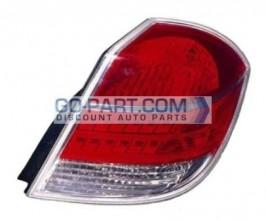 2007-2009 Saturn Aura Hybrid Tail Light Rear Brake Lamp - Right (Passenger)