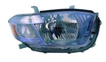 2008 - 2010 Toyota Highlander Hybrid Headlight Assembly - Right (Passenger)