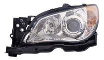 2007 Subaru Impreza Front Headlight Assembly Replacement Housing / Lens / Cover - Left (Driver)