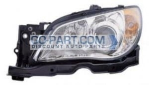 2007-2007 Subaru Impreza Headlight Assembly - Left (Driver)