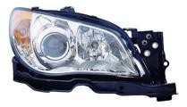 2007 Subaru Impreza Front Headlight Assembly Replacement Housing / Lens / Cover - Right (Passenger)