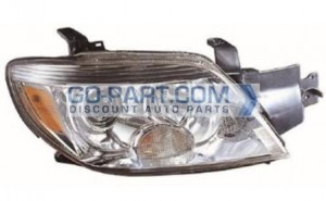 2005-2006 Mitsubishi Outlander Headlight Assembly (LS / SE / XLS)- Right (Passenger)