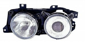 1994-1995 BMW 530i Headlight Assembly - Left (Driver)