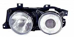 1988-1990 BMW 530i Headlight Assembly - Left (Driver)