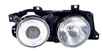 1994 - 1995 BMW 530i Front Headlight Assembly Replacement Housing / Lens / Cover - Right (Passenger)