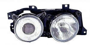 1988-1990 BMW 530i Headlight Assembly - Right (Passenger)