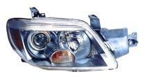2005 - 2006 Mitsubishi Outlander Headlight Assembly (Limited) - Right (Passenger)