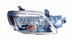 2005-2006 Mitsubishi Outlander Headlight Assembly (Limited) - Right (Passenger)