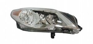 2009-2010 Volkswagen CC Headlight Assembly - Right (Passenger)
